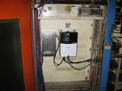 picture of retrofitted Devlieg 4K60 spindle drive panel